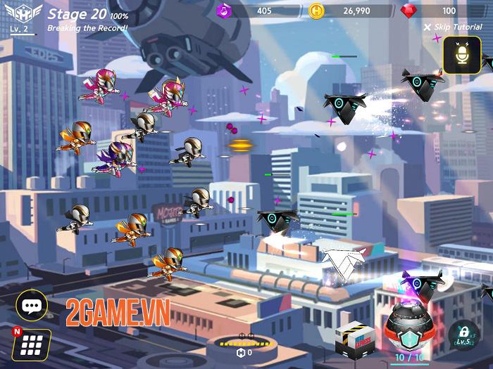 Hero Ball Z - Game bắn súng kết hợp Idle RPG có đồ họa anime cuốn hút 0