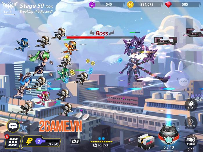 Hero Ball Z - Game bắn súng kết hợp Idle RPG có đồ họa anime cuốn hút 3