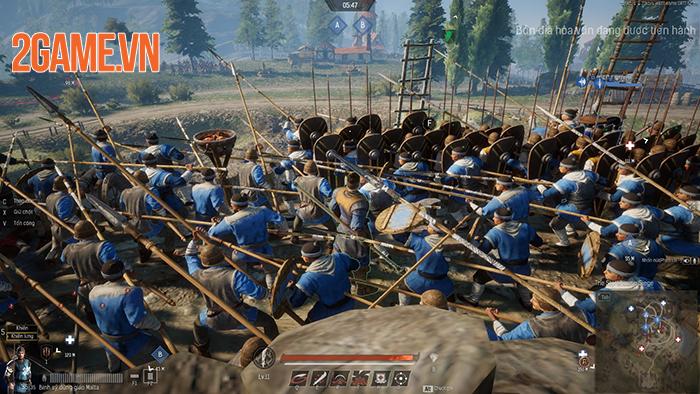 Conqueror's Blade là cuộc chiến của 1000 binh sĩ, 15vs15 người với nhau 0