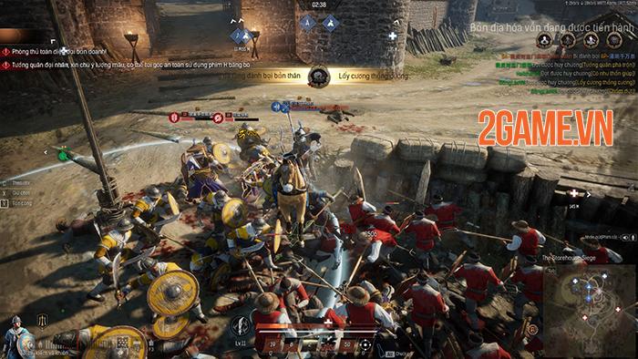 Conqueror's Blade là cuộc chiến của 1000 binh sĩ, 15vs15 người với nhau 1
