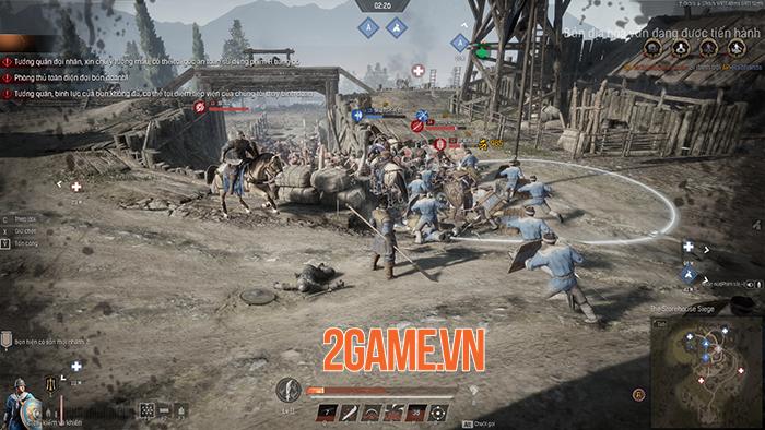 Conqueror's Blade là cuộc chiến của 1000 binh sĩ, 15vs15 người với nhau 5