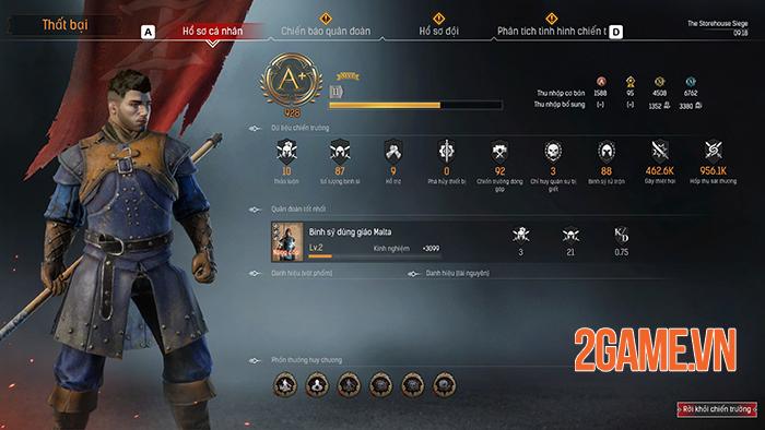 Conqueror's Blade là cuộc chiến của 1000 binh sĩ, 15vs15 người với nhau 3