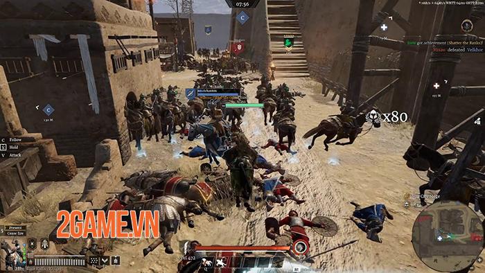 Conqueror's Blade là cuộc chiến của 1000 binh sĩ, 15vs15 người với nhau 4