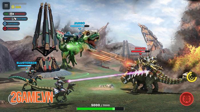 Dino Squad Mobile - Khi khủng long được chạm vào hàng nóng công nghệ cao 0
