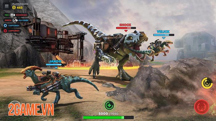 Dino Squad Mobile - Khi khủng long được chạm vào hàng nóng công nghệ cao 3