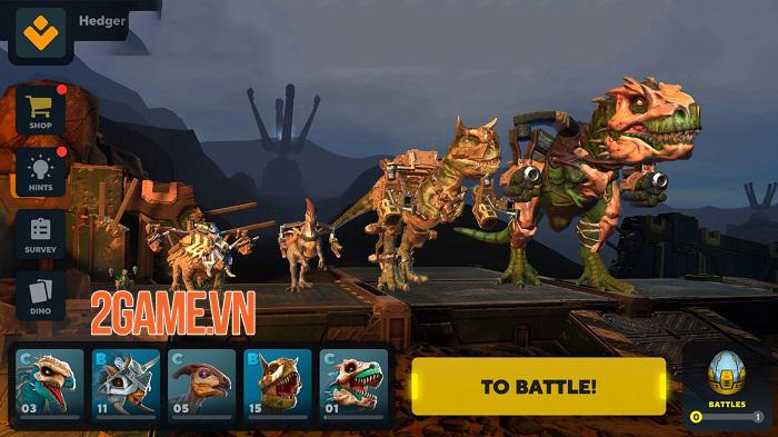 Dino Squad Mobile - Khi khủng long được chạm vào hàng nóng công nghệ cao 2