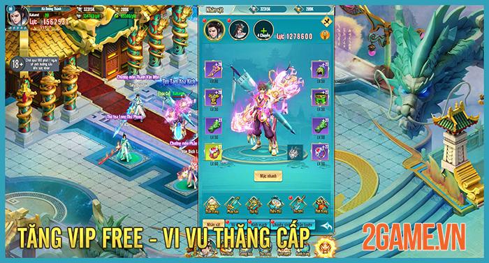 Game tu tiên cày vàng thả ga Tru Tiên H5 ra mắt trang teaser 2