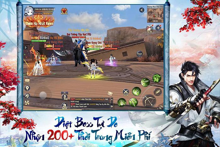 Thỏa sức PK, luyện cấp săn đồ làm giàu với Ngạo Kiếm 3D Mobile 6