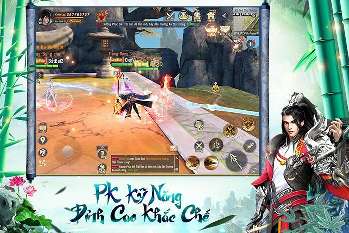 Thỏa sức PK, luyện cấp săn đồ làm giàu với Ngạo Kiếm 3D Mobile 1