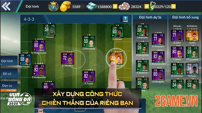 Champion Eleven về Việt Nam lấy tên Vua Bóng Đá Gamota 3
