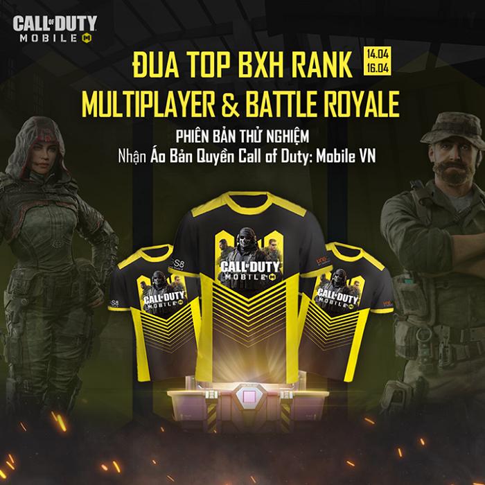 Game thủ Call of Duty: Mobile VN chăm chỉ leo rank ngay buổi thử nghiệm 0