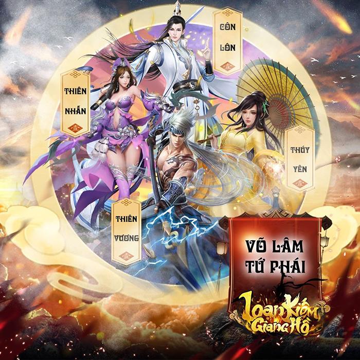 Game kiếm hiệp Loạn Kiếm Giang Hồ Mobile cập bến Việt Nam 0