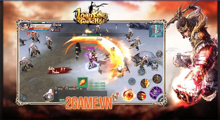 Game kiếm hiệp Loạn Kiếm Giang Hồ Mobile cập bến Việt Nam 1