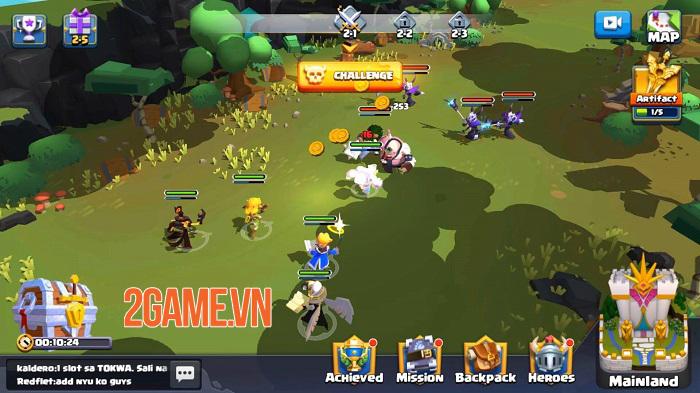 Idle Oasis: Eternal - Game Idle RPG 3D có lối chơi nhanh và thú vị 1