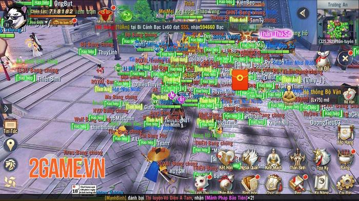 Game thủ Ngạo Kiếm 3D cắm mặt cày cuốc quên thời gian trong ngày ra mắt chính thức 2