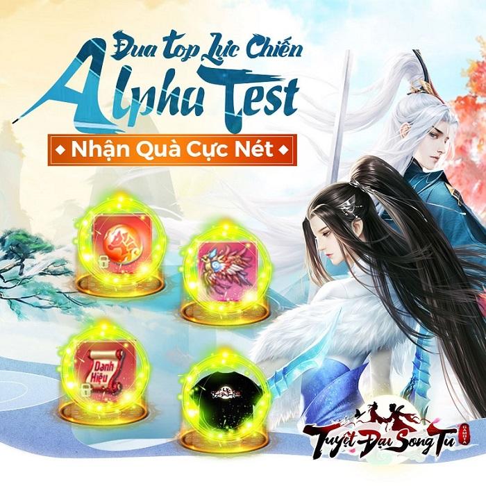 Tuyệt Đại Song Tu Mobile chào đón Alpha Test cùng chuỗi sự kiện và quà tặng siêu chất 2