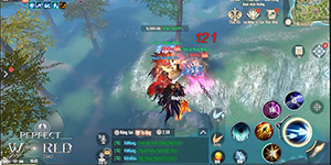 Lối chơi của Perfect World VNG dù quen thuộc nhưng đầy sáng tạo