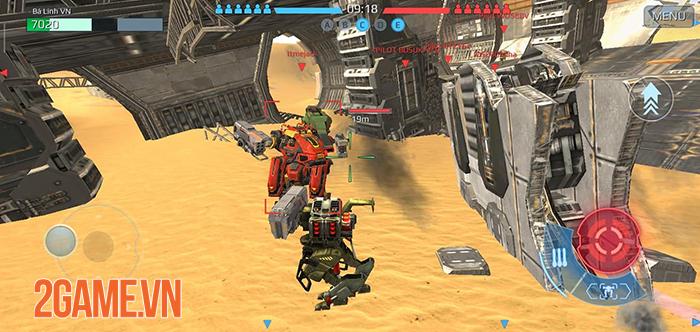 Game bom tấn War Robots Mobile về Việt Nam 2
