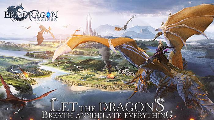 Era of Dragon Trainer - MMORPG 3D cho phép cưỡi Rồng chiến đấu 0