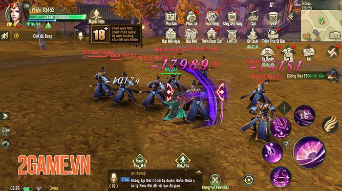 Ngự Kiếm Mobile đốn tim người chơi bằng hình ảnh đẹp, lối chơi nhập vai đa dạng 5