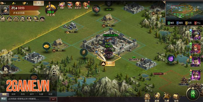 Tam Quốc Công Thành H5 - Game chiến thuật điều binh khiển tướng về Việt Nam 0