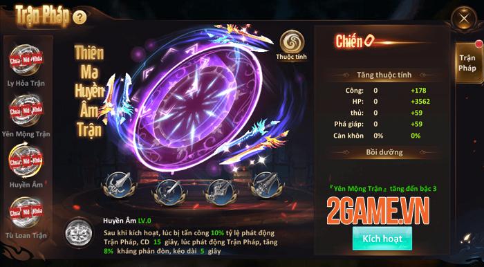 Tiên Ma Truyền Kỳ thêm nhiều màu sắc mới với phiên bản update tháng 4 5