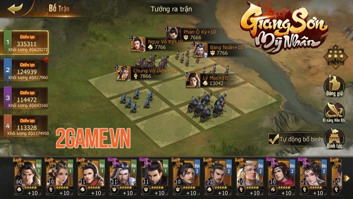 Game chiến thuật Giang Sơn Mỹ Nhân Mobile hẹn ra mắt vào tháng 5 2