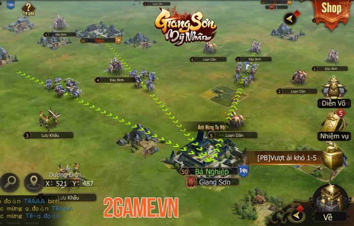 Game chiến thuật Giang Sơn Mỹ Nhân Mobile hẹn ra mắt vào tháng 5 7
