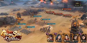 Game chiến thuật Giang Sơn Mỹ Nhân Mobile hẹn ra mắt vào tháng 5