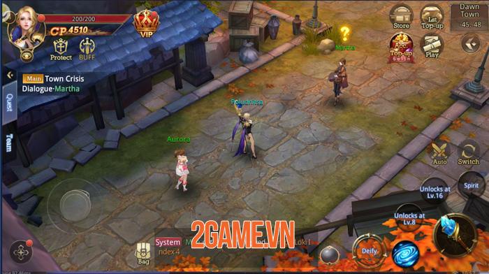 Game nhập vai Quỷ Kiếm 3D Mobile về Việt Nam 1