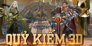 Game nhập vai Quỷ Kiếm 3D Mobile về Việt Nam