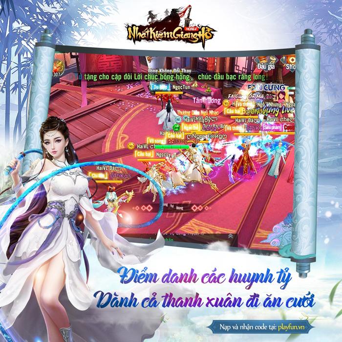 Cộng đồng Nhất Kiếm Giang Hồ ngày qua ngày, tháng qua tháng vẫn luôn đông vui 2