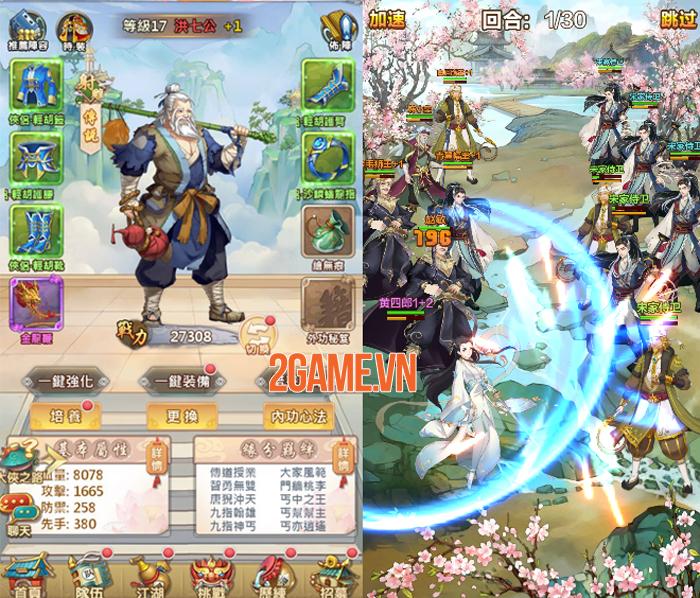 Game kiếm hiệp đấu trí Hoa Sơn Ngũ Tuyệt Mobile về Việt Nam 2