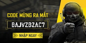 Tặng 888 giftcode Call of Duty: Mobile VN