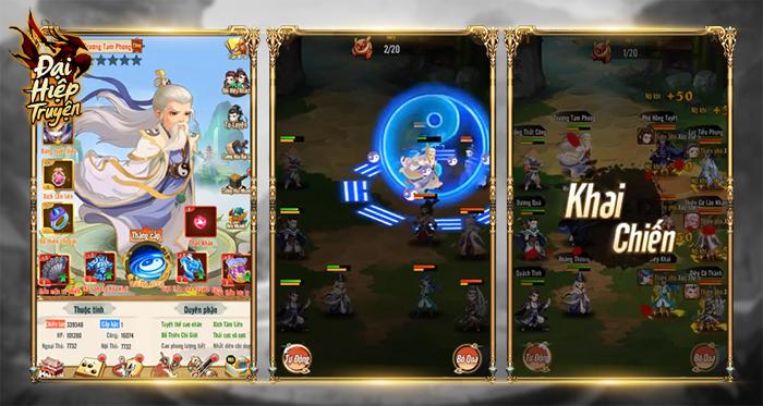 Game đấu thẻ tướng Đại Hiệp Truyện Mobile ra mắt vào sáng nay! 1