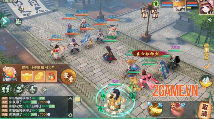 Tân Thần Điêu VNG - Game MMORPG đấu tướng mang màu sắc kiếm hiệp tình duyên độc đáo 4