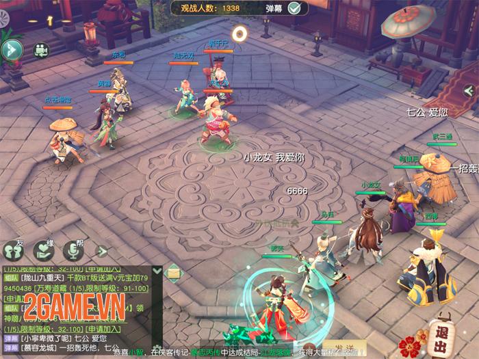 Không ngoa khi nói Tân Thần Điêu VNG là game MMORPG đấu tướng kiếm hiệp đẹp nhất! 4