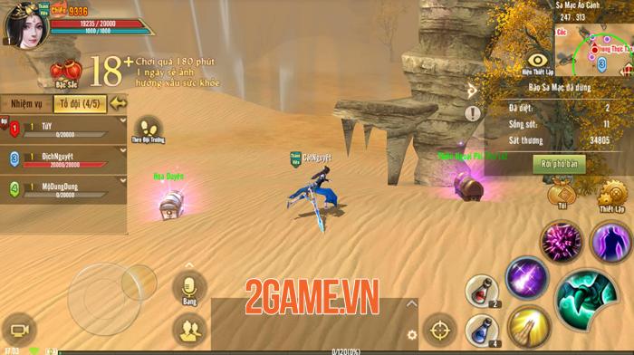 Tân Thiên Long Mobile VNG sắp cho người chơi chạy bo sinh tồn đầy dị biệt 2