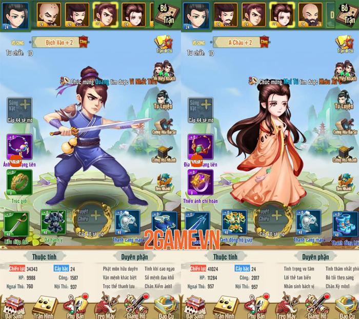 Trải nghiệm Đại Hiệp Truyện: Game đấu tướng Võ hiệp dễ chơi dễ nghiện 3
