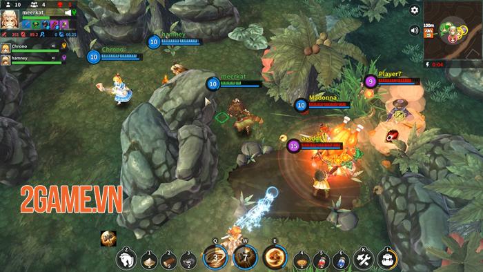 Royal Crown – Game MOBA sinh tồn lấy đồ họa kiểu Ragnarok Online 1