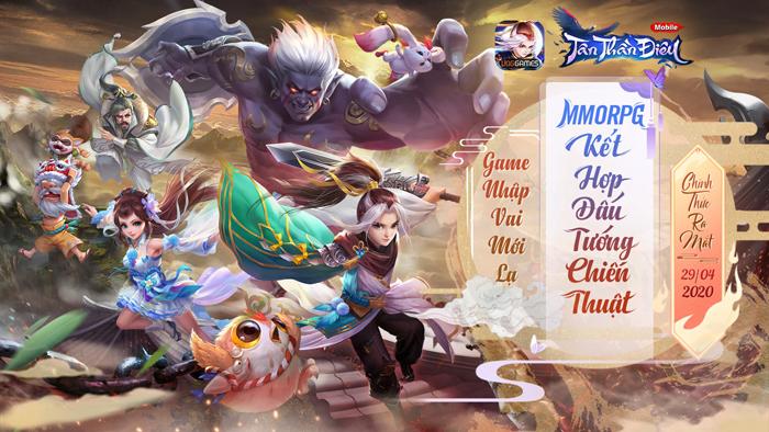Tặng 555 giftcode game Tân Thần Điêu VNG 0
