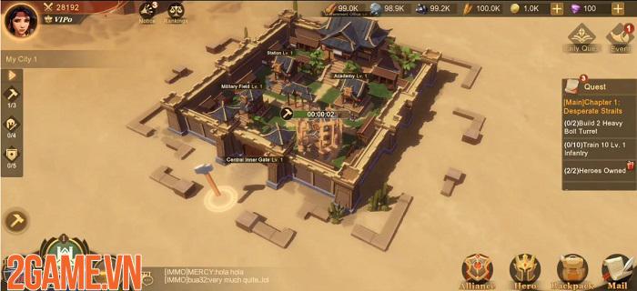 Land of Glory: Epic Strategy – Bàn tiệc được kết hợp từ hai nền văn hóa 0