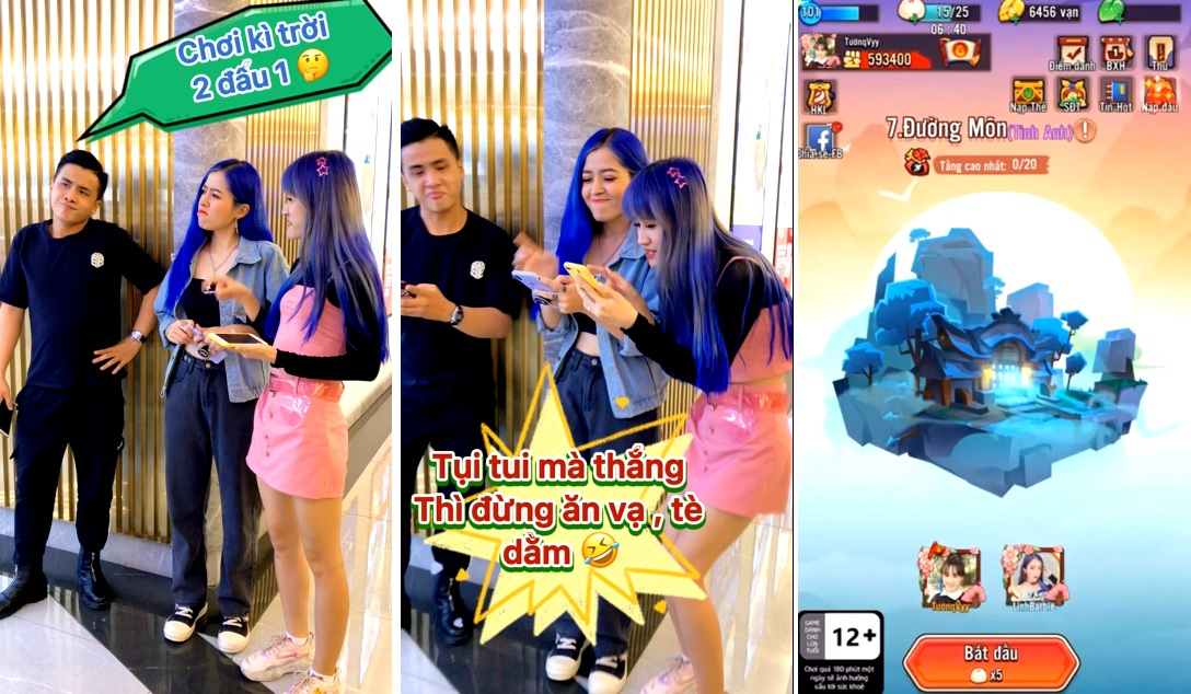 TikTok xuất hiện trào lưu cưc hay về game Đại Hiệp Piu Piu Piu 2