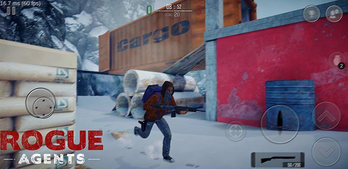 Cảm nhận Rogue Agents: Game bắn súng hành động đã tay trên mobile 1