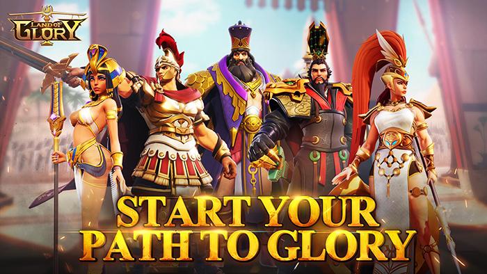 Land of Glory: Epic Strategy – Bàn tiệc được kết hợp từ hai nền văn hóa 1