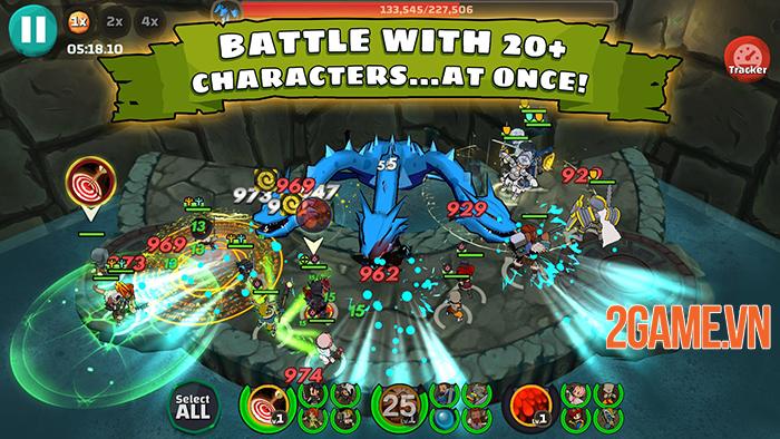 Raid Boss: Học viện anh hùng diệt boss vô cùng đã tay 2
