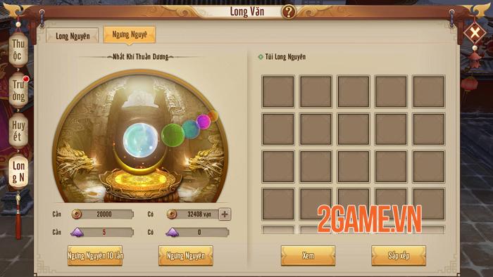 Người chơi Tân Thiên Long Mobile VNG tăng lực chiến vù vù nhờ tính năng mới Long Văn 6