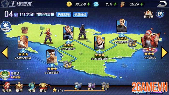 KOF AllStar VNG - Quyền Vương Chiến: Game thẻ tướng chính chủ từ SNK Nhật Bản 5
