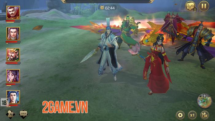 Game Tuyệt Đỉnh Tam Quốc sở hữu đồ họa siêu đẹp 0