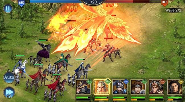 Three Kingdoms: Raja Chaos – Game quản lý quân sự tái hiện lại lịch sử Tam Quốc
